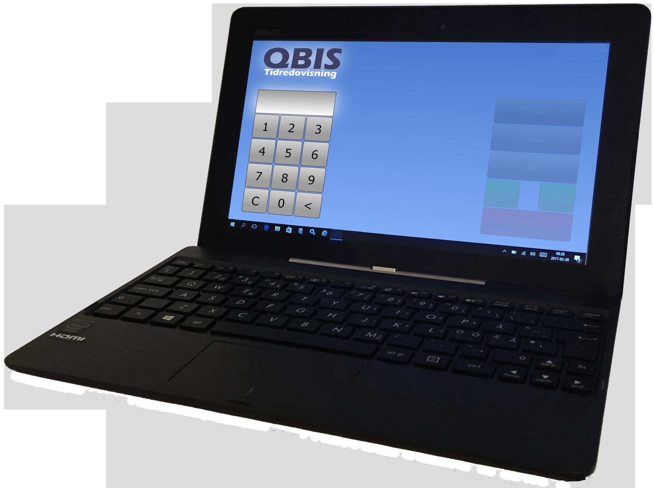 QBIS Stämpelklocka