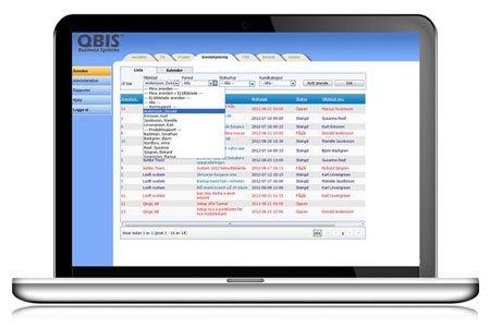 QBIS Ärendehantering