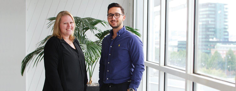 Marina & Roberto – välkomna till Team QBIS!
