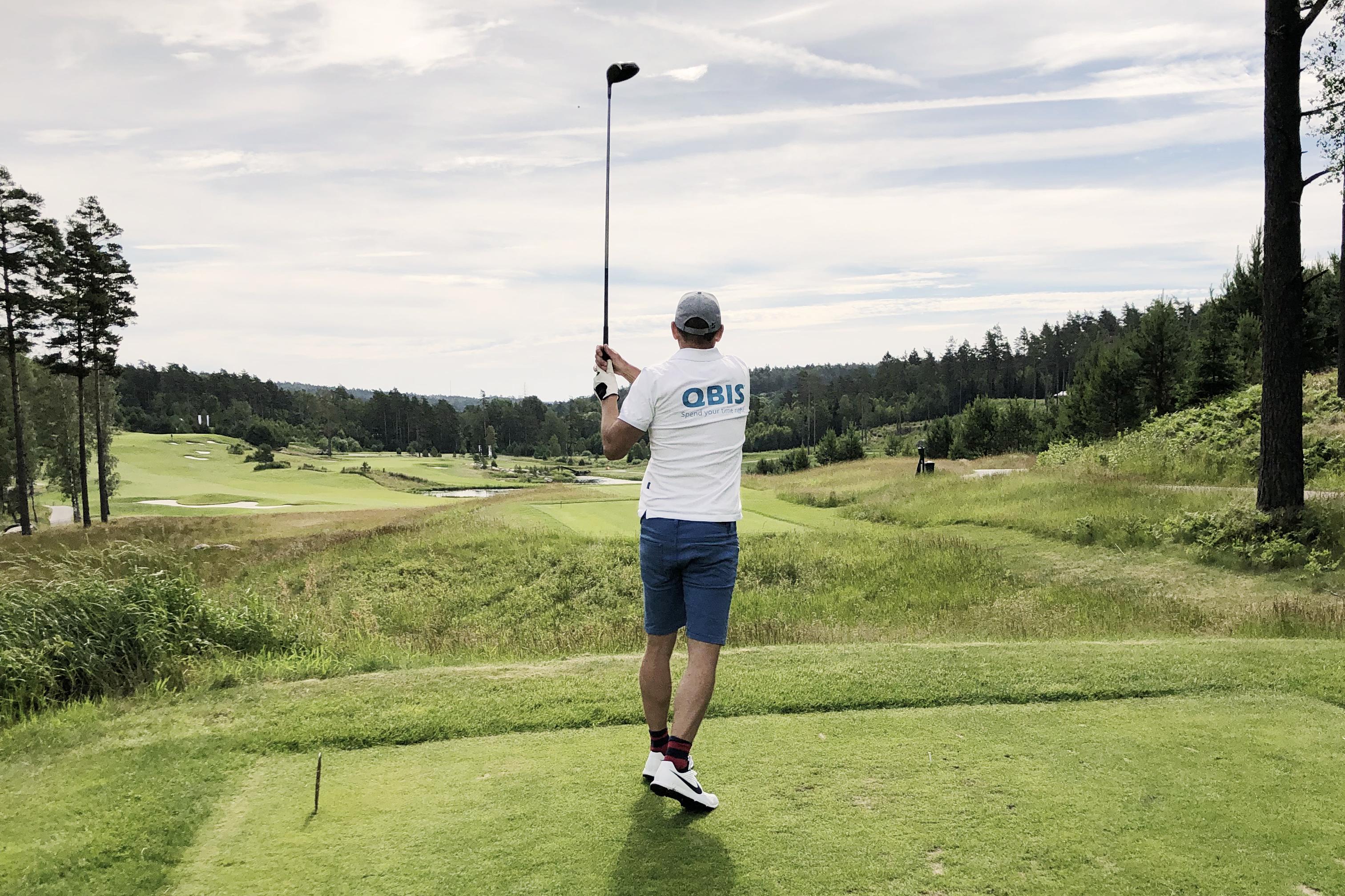 QBIS sponsor på ESSIQ-golfen