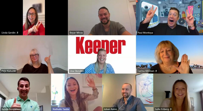 Med förändring i sikte vinner Keeper priset som Årets Framträdande Byrå i QBIS Partner Awards 2020